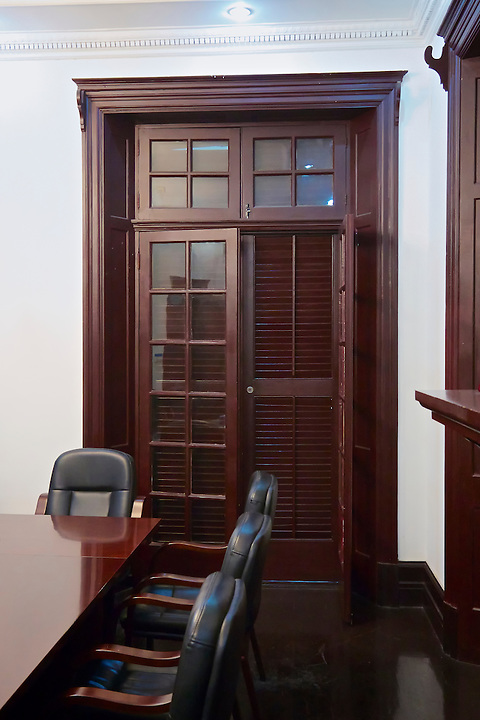 The Existing Meeting Room Which Is In The South-East Corner Of The Residence.  Yichang (Ichang).