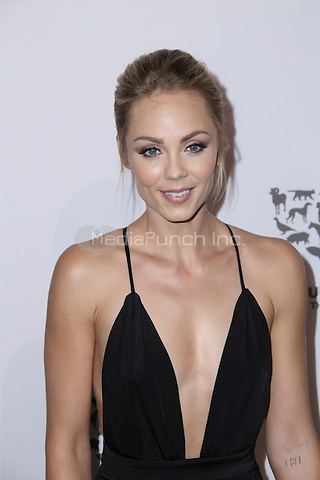HOLLYWOOD, CA - MAY 07: Laura Vandervoort attends The Humane Society of the United States' to the Rescue Gala at Paramount Studios on May 7, 2016 in Hollywood, California. Credit: Parisa/MediaPunch.