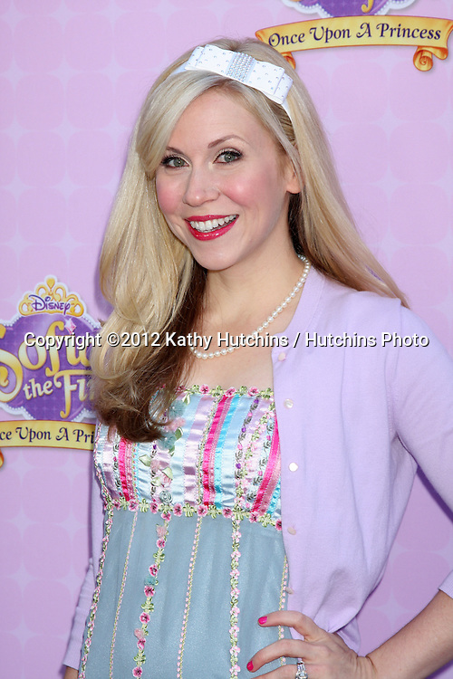 """LOS ANGELES - NOV 10:  Ashley Eckstein arrives at the """"Sofia The First: Once Upon a Princess"""" Premiere And Story Book Launch at Walt Disney Studios on November 10, 2012 in Burbank, CA"""