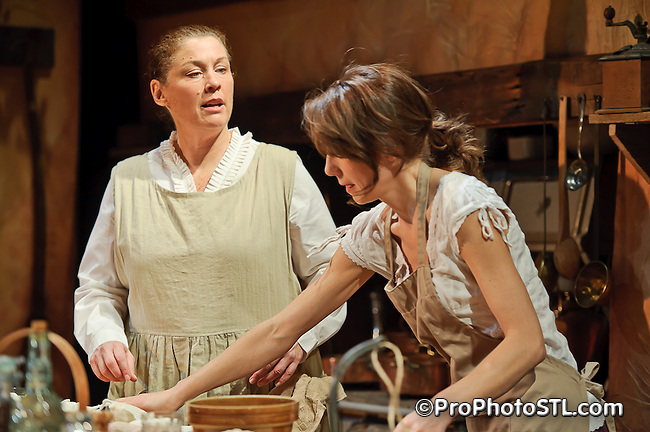 """Cooking with Elisa"" by Upstream Theater at Kranzberg Arts Center in St. Louis, MO on Jan 7, 2011."