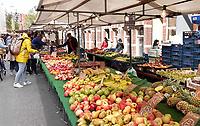 Nederland - Amsterdam  -  September 2018.   De Ten Katemarkt in de Kinkerbuurt.   Foto Berlinda van Dam / Hollandse Hoogte