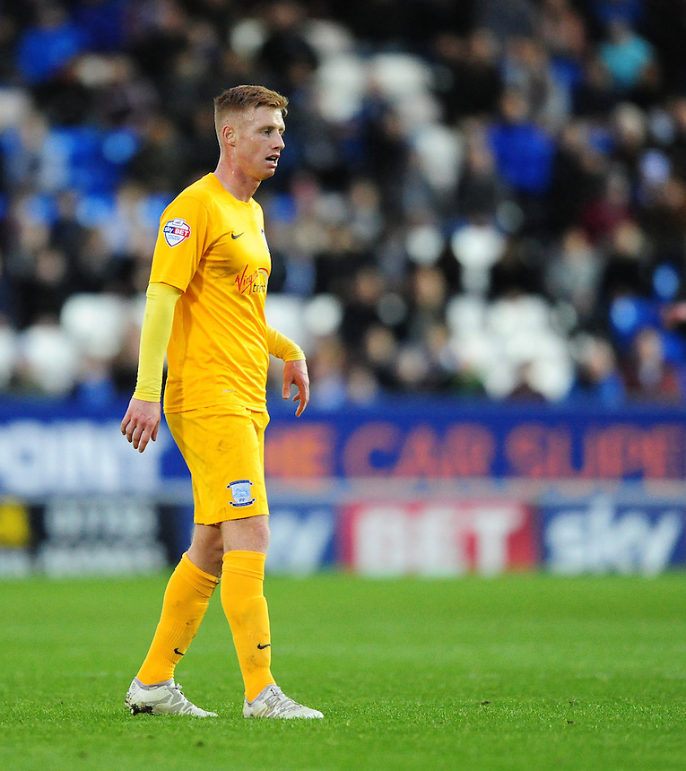 Preston North End&rsquo;s Eoin Doyle<br /> <br /> Photographer Chris Vaughan/CameraSport<br /> <br /> Football - The FA Cup Third Round - Peterborough United v Preston North End - Saturday 9th January 2016 - ABAX Stadium - Peterborough <br /> <br /> &copy; CameraSport - 43 Linden Ave. Countesthorpe. Leicester. England. LE8 5PG - Tel: +44 (0) 116 277 4147 - admin@camerasport.com - www.camerasport.com