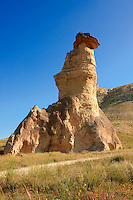 Fairy Chimneys near Zelve, Cappadocia Turkey