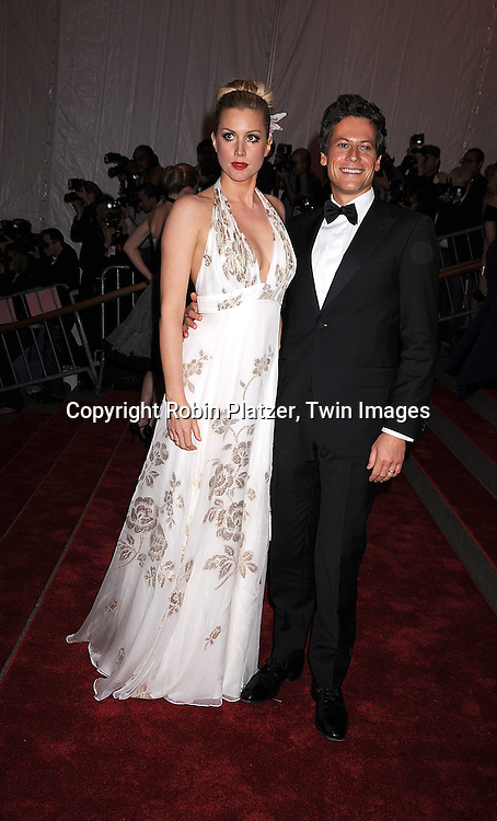 "Alice Evans and Ioan Gruffudd.arriving at The Costume Institute Gala of The Metropolitan Museum of Art on May 5, 2008. The costume exhibit was .""Superheroies: Fashion and Fantasy...Robin Platzer, Twin Images"