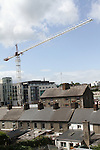 Unused crane at Scotch Hall Phase 2...(Photo credit should read Jenny Matthews www.newsfile.ie)....This Picture has been sent you under the conditions enclosed by:.Newsfile Ltd..The Studio,.Millmount Abbey,.Drogheda,.Co Meath..Ireland..Tel: +353(0)41-9871240.Fax: +353(0)41-9871260.GSM: +353(0)86-2500958.email: pictures@newsfile.ie.www.newsfile.ie.