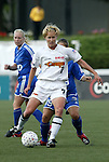 13 July 2003: Anne Makinen. The Boston Breakers defeated the Philadelphia Charge 3-1 at Boston University's Nickerson Field in Boston, MA in a regular season WUSA game..Mandatory Credit: Andy Mead/Icon SMI