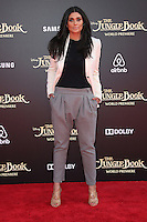 "04 April 2016 - Hollywood, California - Rachel Roy. ""The Jungle Book"" Los Angeles Premiere held at the El Capitan Theatre. Photo Credit: Sammi/AdMedia"