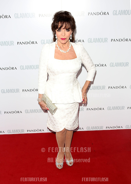 Joan Collins arriving for the 013 Glamour Women of The Year Awards, Berkeley Square, London. Picture by: Henry Harris / Featureflash