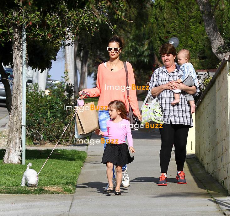 Alessandra Ambrosio With Her Son Noah Phoenix Ambrosio Mazur