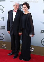 HOLLYWOOD, LOS ANGELES, CA, USA - JUNE 05: Sam Waterston, Lynn Louisa Woodruff at the 42nd AFI Life Achievement Award Honoring Jane Fonda held at the Dolby Theatre on June 5, 2014 in Hollywood, Los Angeles, California, United States. (Photo by Xavier Collin/Celebrity Monitor)