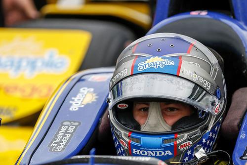 12-14 May, 2016, Indianapolis, Indiana, USA<br /> Marco Andretti<br /> ©2016, Sam Cobb<br /> LAT Photo USA