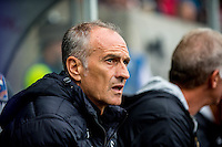 Francesco Guidolin, Manager of Swansea City   during the Premier League match between Swansea City and Hull City at the Liberty Stadium, Swansea on Saturday August 20th 2016