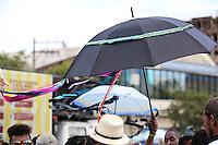 PORTO ALEGRE, RS, 15.03.2014 - CARNAVAL PORTO ALEGRE - BLOCO DE RUA - Folioes durante o Bloco Tucuruta e Peregrinos do Samba no Largo Zumbi dos Palmares na cidade baixa em Porto Alegre, neste sábado, 15. (Foto: Pedro H. Tesch / Brazil Photo Press).