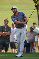 Graeme McDowell (NIR) watches his tee shot on 7 during round 1 of the 2019 Charles Schwab Challenge, Colonial Country Club, Ft. Worth, Texas,  USA. 5/23/2019.<br /> Picture: Golffile | Ken Murray<br /> <br /> All photo usage must carry mandatory copyright credit (© Golffile | Ken Murray)