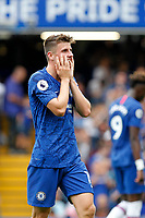 Mason Mount of Chelsea anguish during the Premier League match between Chelsea and Sheff United at Stamford Bridge, London, England on 31 August 2019. Photo by Carlton Myrie / PRiME Media Images.