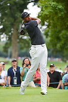 Tony Finau (USA) watches his tee shot on 4 during Rd3 of the 2019 BMW Championship, Medinah Golf Club, Chicago, Illinois, USA. 8/17/2019.<br /> Picture Ken Murray / Golffile.ie<br /> <br /> All photo usage must carry mandatory copyright credit (© Golffile   Ken Murray)
