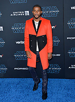"""LOS ANGELES, USA. December 17, 2019: Trevor Jackson at the world premiere of """"Star Wars: The Rise of Skywalker"""" at the El Capitan Theatre.<br /> Picture: Paul Smith/Featureflash"""