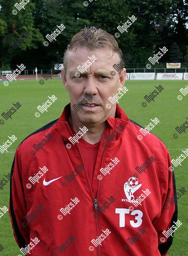 6/09/2008 ; voetbal ; KV Turnhout ;Dufraing Jef . keeperstrainer ; T3