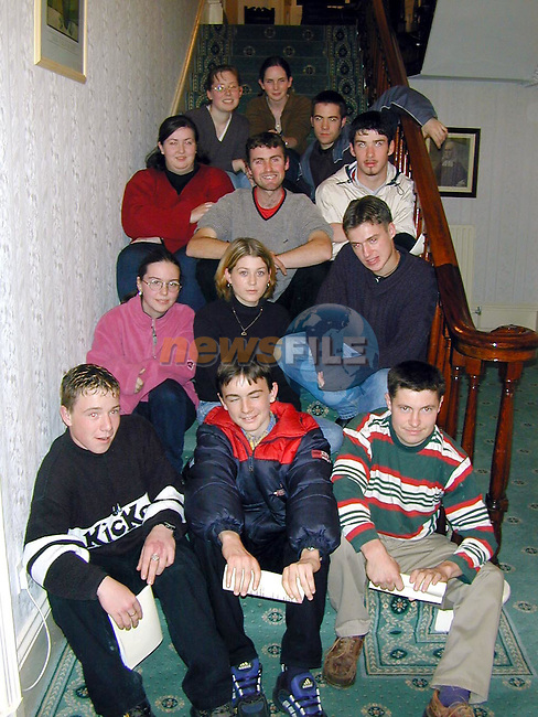 Ardee Youth Group who are going off on a pilgramage to The Holy Land on October 14th..Picture Paul Mohan Newsfile