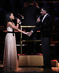 Nikki Rene Daniels and Norm Lewis during the Broadway Classics in Concert at Carnegie Hall on February 20, 2018 at Carnegie Hall in New York City.