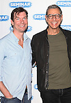 Jerry O'Connell, Jeff Goldblum.attending the 'SEMINAR' Come Meet The New Broadway Cast at the Roundabout Reharsal Studios in New York on 3/28/2012