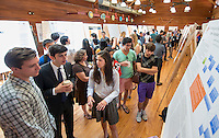 Occidental College hosts the Summer Research Conference in which students presented their research in the form of 20-minute talks and poster presentations, July 31, 2013. (Photo by Marc Campos, Occidental College Photographer)