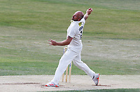 Darren Stevens of Kent in bowling action during Essex CCC vs Kent CCC, Bob Willis Trophy Cricket at The Cloudfm County Ground on 3rd August 2020