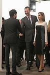 Spanish Royals King Felipe VI of Spain and Queen Letizia of Spain visit ARCO Contemporary Art Fair inauguration in Madrid, Spain. February 26, 2015. (ALTERPHOTOS/Victor Blanco)