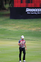 Rory McIlroy (NIR) walks onto the 16th green during Sunday's Final Round of the 2012 World Golf Championship Bridgestone Invitational at The Firestone Country Club, Akron, Ohio, USA 5th August 2012 (Photo Eoin Clarke/www.golffile.ie)
