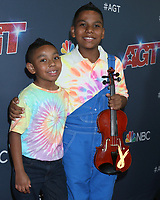 """LOS ANGELES - SEP 3:  Brother, Tyler Butler-Figueroa at the """"America's Got Talent"""" Season 14 Live Show Red Carpet at the Dolby Theater on September 3, 2019 in Los Angeles, CA"""