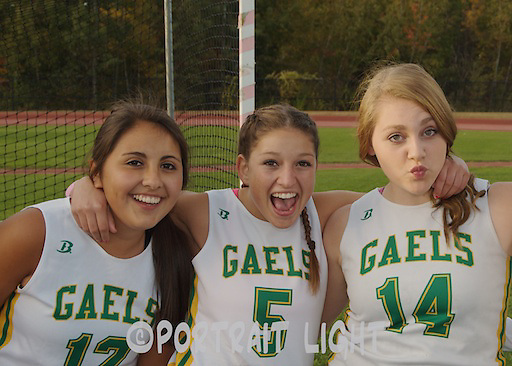From left, CHS juniors Gabriele Hastings, Juliana Tambolleo and Lauren Beary.