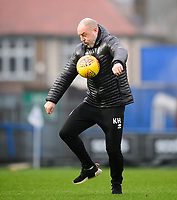 Rochdale manager Keith Hill during the pre-match warm-up<br /> <br /> Photographer Chris Vaughan/CameraSport<br /> <br /> The EFL Sky Bet League One - Rochdale v Blackpool - Wednesday 26th December 2018 - Spotland Stadium - Rochdale<br /> <br /> World Copyright &copy; 2018 CameraSport. All rights reserved. 43 Linden Ave. Countesthorpe. Leicester. England. LE8 5PG - Tel: +44 (0) 116 277 4147 - admin@camerasport.com - www.camerasport.com