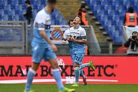 Celebration after  goal of Sergej Milinkovic Savic Lazio. Goal celebration.<br /> Roma 22-12-2018 Stadio Olimpico<br /> Football Calcio Campionato Serie A<br /> 2018/2019 <br /> Lazio - Cagliari<br /> Foto Antonietta Baldassarre / Insidefoto