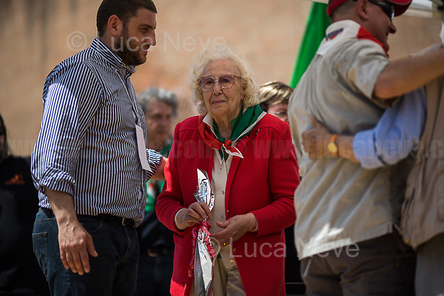 Iole Mancini (Antifascist Partizan. Member of the Partigiani: the Italian Resistance during WWII) <br />