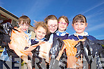 """GREASE: Pupils of Bouleenshere school in Ballyheigue preparing for their production of """"Grease Comes to Ballyheigue"""" which takes place on Friday night, l-r: Matthew Dineen, Leah Galloway, Emily Kane, Yasemine Kahramen, Katelyn Stretch."""