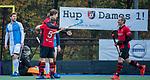 ZEIST-  Schaerweijde heeft gescoord, rechts Ronald Brouwer (Schaerweijde) , promotieklasse hockey heren, Schaerweijde-Hurley (4-0)  COPYRIGHT KOEN SUYK