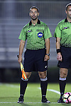 21 October 2016: Assistant Referee Neil Barbulescu. The Duke University Blue Devils hosted the University of Notre Dame Fighting Irish at Koskinen Stadium in Durham, North Carolina in a 2016 NCAA Division I Men's Soccer match. Duke won the game 2-1 in two overtimes.