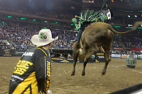 NEW YORK, NEW YORK- JANUARY 4: Professional Bull Riders and New Yorkers &amp; Tourists attend the 2019 Monster Energy Buck Off at The Garden, presented by Ariat held at Madison Square Garden on January 4, 2019 in New York City.  <br /> CAP/MPI43<br /> &copy;MPI43/Capital Pictures