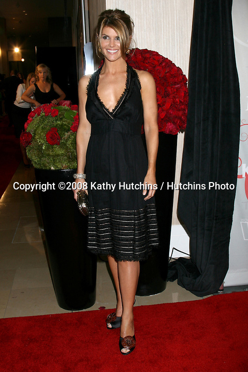 Lori Loughlin  arriving at the 2008 Crystal & Lucy Awards at the Beverly Hilton Hotel in Beverly Hills, CA.June 17, 2008.©2008 Kathy Hutchins / Hutchins Photo .