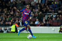 30th January 2020; Camp Nou, Barcelona, Catalonia, Spain; Copa Del Rey Football, Barcelona versus Leganes; Ansu Fati of FC Barcelona breaks into the Leganes box late in the game