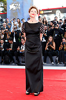 VENICE, ITALY - AUGUST 30: Annette Bening arrives at the 'Downsizing' premiere and Opening of the 74th Venice Film Festival at the Palazzo del Cinema on August 30, 2017 in Venice, Italy.  (Photo by John Rasimus) /MediaPunch ***FRANCE, SWEDEN, NORWAY, DENARK, FINLAND, USA, CZECH REPUBLIC, SOUTH AMERICA ONLY***
