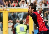 "sculli esulta 1-0<br /> Genova 14/09/2008 Stadio ""Ferraris"" <br /> Calcio Serie A Tim 2008-2009 <br /> Genoa-Milan<br /> Foto Davide Elias Insidefoto"