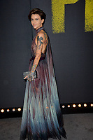 Ruby Rose at the world premiere of &quot;Pitch Perfect 3&quot;  at the TCL Chinese Theatre, Hollywood, USA 12 Dec. 2017<br /> Picture: Paul Smith/Featureflash/SilverHub 0208 004 5359 sales@silverhubmedia.com