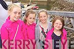 Laura O'Carroll, Ashleigh O'Carroll, Emma Farrelly and Cara Kelly (Fenit) pictured at Fenit Regatta on Sunday.
