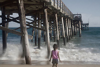 June Gloom - California Beaches and Piers