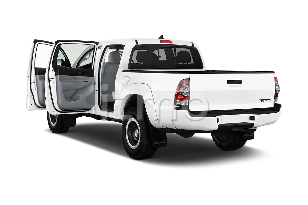 Car images of 2015 Toyota Tacoma TRD Pro 4 Door Pickup Doors