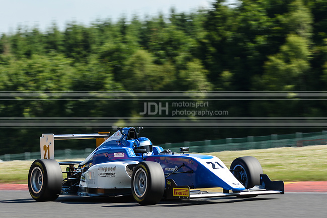 Chase Owen - Hillspeed with Cliff Dempsey Racing BRDC British F3 Championship