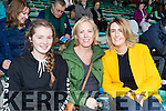 Emma and Lesley Harty Causeway with Leanne Ryan Tralee, cheering Kilmoyley, at the senior Hurling replay held in Austin Stack Park, Tralee on Saturday evening last.