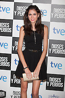 Sandra Martin poses at `Dioses y perros´ film premiere photocall in Madrid, Spain. October 07, 2014. (ALTERPHOTOS/Victor Blanco) /nortephoto.com