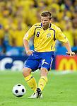 Anders Svensson at Euro 2008 Greece-Sweden 06102008, Salzburg, Austria